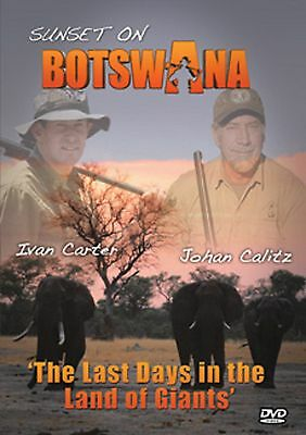 Sunset on Botswana African Hunting DVD with Ivan Carter - Out of Production