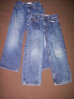 Boys Jeans 2 Pairs Size 6