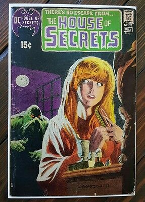 House of Secrets 92 / 1st Swamp Thing / DC Comics / Wein & Wrightson / 1971