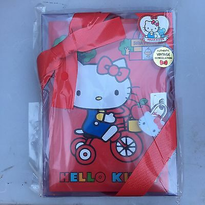 NEW Hello Kitty Vintage Authentic Reproduction Diary With Lock Sanrio Rare