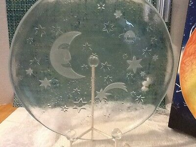 Collection Moonlight Teller Plate Germany with Original Box Glasax Top Line
