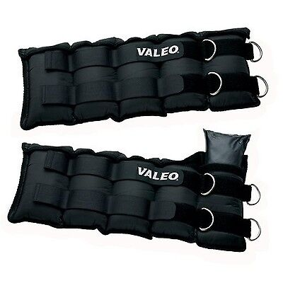 Valeo AW20 Adjustable Ankle / Wrist Weights (10-Pounds Each 20-Pound Total)