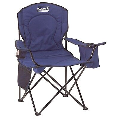Coleman Oversized Quad Chair with Cooler Blue