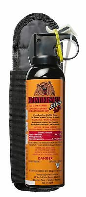 Frontiersman XTRA Bear Spray with Belt Holster - Maximum Strength & Maximum R...