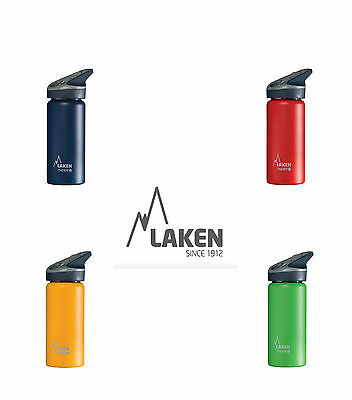 Flip Straw St. steel Insulated water bottle by Laken (Jannu) - 500ml Assorted Co