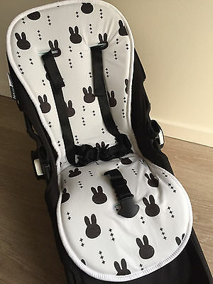 SALE* Reversible All Weather Wool Memory Foam Pram Liner Bugaboo,Icandy,Uppababy