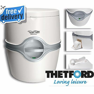 Thetford Toilet Porta Potti Excellence Portable Outdoor Camping Caravan Potty