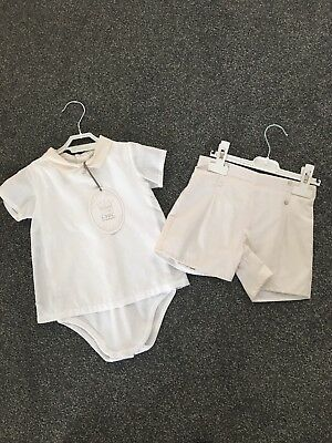 Chic Collection Boys Christening Outfit - 24 Months