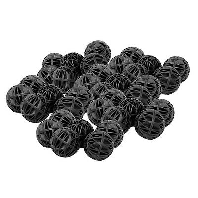 Aquarium Bio Balls For Filters Black, 16MM X50 £3.99 DISPATCHED FROM UK 24 HOURS