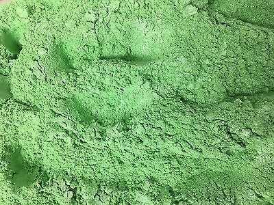 20g GREEN MICA - Soap Candle Polymer Clay Making Colour Mineral Powder