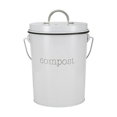 New Home Compost Bin 24cm Waste Composter Food Garden Recycling Tumbler Scrap