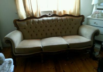 Shabby Chic/French provincial couch/Baroque couch Italian antique style