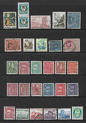 NORWAY - mixed collection No.5, 1962-2000