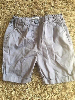 Mamas And Papas Boys Shorts Age 18-24 Months