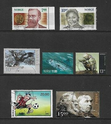 NORWAY - mixed collection No.6, 2001-2012, used