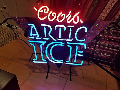 Vintage Coors Artic Ice Neon Sign