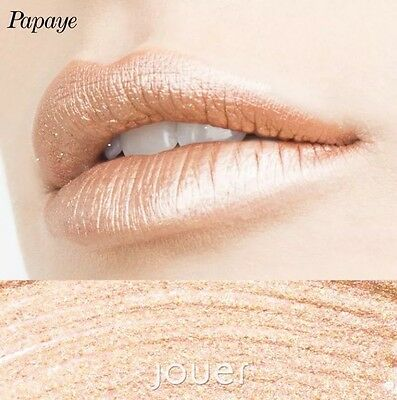 Jouer Cosmetics PAPAYE Long Wear Metallic Lip Creme Liquid Lipstick 100% Genuine