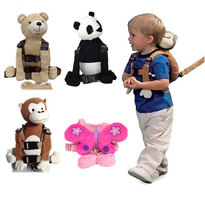 Safety Harness Buddy Strap Baby Kid Toddler Walking Cosplay Backpack Reins Bag