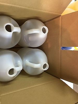 4 Each Gallon Plastic Bottle Jug NEW UNUSED with Shipping Box