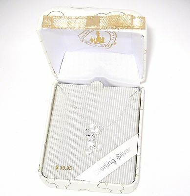 Disney Park Authentic Necklace✿925 Sterling Silver Mickey Mouse Boxed Gift Ready