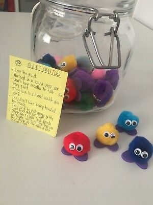 Quiet Critters - Noise Level Management In The Classroom