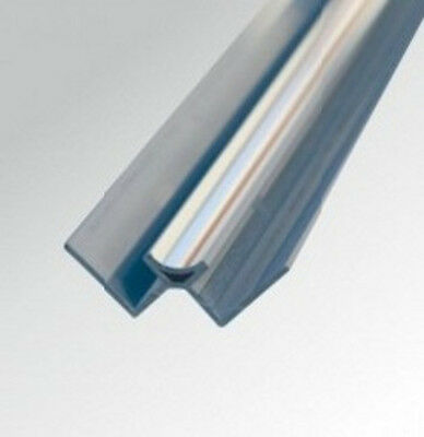 10mm CHROME PVC INTERNAL CORNER TRIM for Shower Wall Panels Wet Wall Cladding