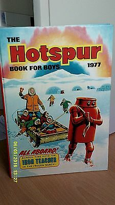 Hotspur Book for Boys. 1977. Almost mint