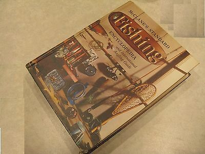 Vintage McClane's standard fishing encyclopedia and international angling guide