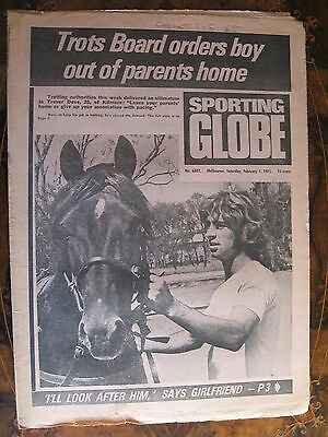 Sporting Globe    FEB 1 1975 Trevor Dove