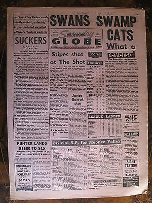 Sporting Globe    MAY 30 1970 South Melbourne Geelong