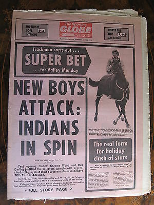 Sporting Globe    JAN 28 1978 Grahame Wood Rick Darling