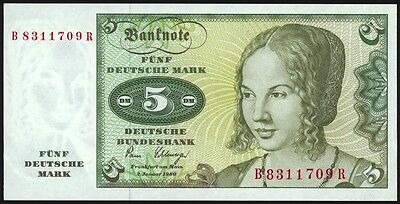 Federal Republic of Germany 5 Mark P30b Uncirculated
