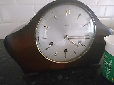 Antique Smiths Westminster Chime Mantle Clock In Full Working Order Great Chimes
