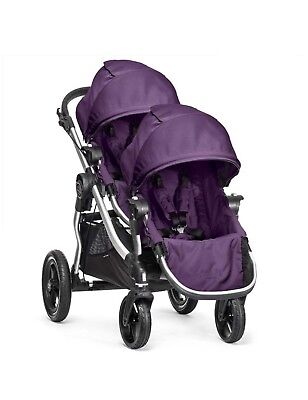NEW 2016 Baby Jogger City Select Double Stroller - Amethyst - Free Shipping!