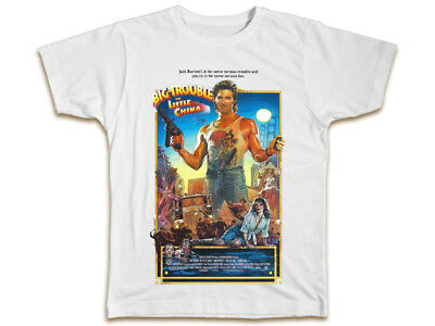 Big Trouble In Little China Mens T-Shirt - John Carpenter Gift Movie Poster