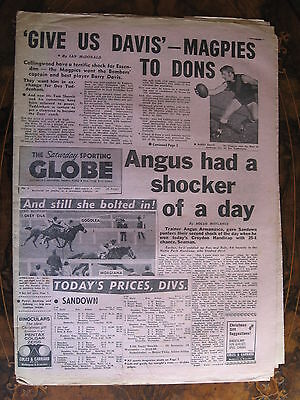 Sporting Globe    DEC 4 1971  Barry Davis
