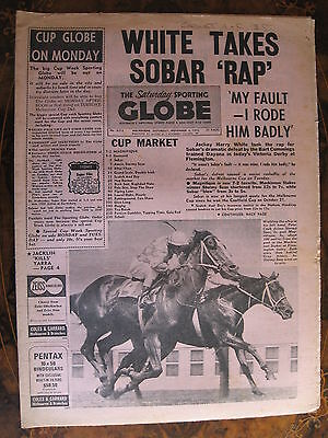 Sporting Globe    NOV 4 1972 Harry White Sobar