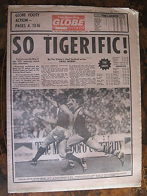 Sporting Globe    APRIL 1 1978 Carlton Trevor Keogh
