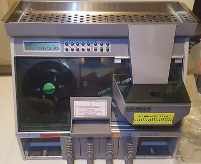 Scan Coin SC22 Coin Counter/Sorter Never used