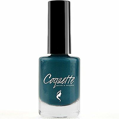 Isabelle Dupont ® Coquette Nail Polish Varnish - 60 Colours (Teal Shimmer)