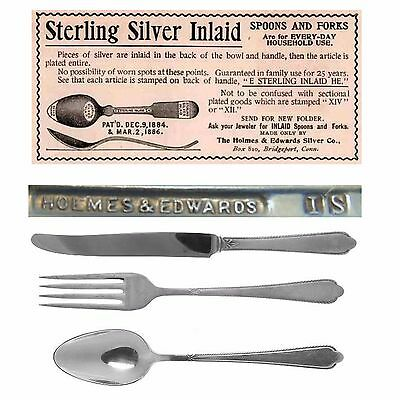 Antique Silverware 1935 Guest of Honor Pattern Holidays Thanksgiving Christmas