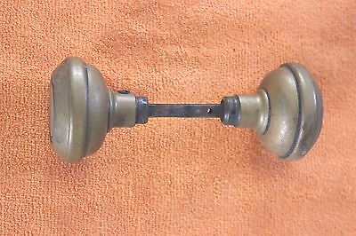 "Antique Door Knob Set  2 1/4"" diameter"