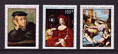 GABON 1970 Anniversary of the Death of Raphael ART - MNH Set - Cat £8 - (45)
