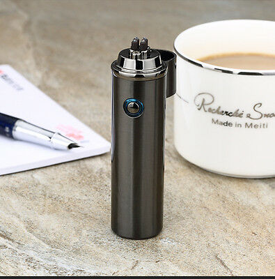 USB Dual Arc Electric Windproof Flameless Plasma Rechargeable Lighter