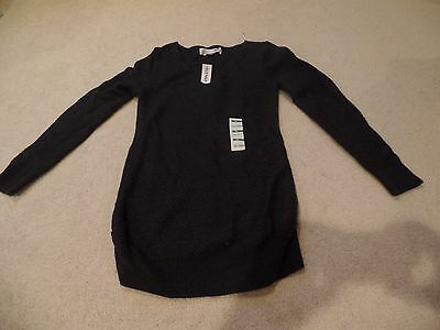 Women Maternity Sweater, Old Navy Pull-Over, Charcoal, Size:Extra-Small, NWT