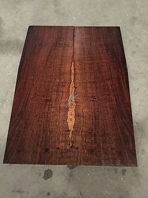 Ironwood Wattle Electric Guitar Drop Top . Luthier #932
