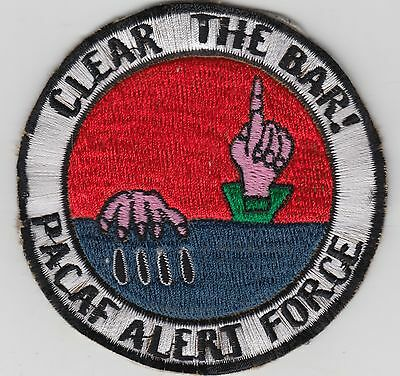 USAF 16th SOS AC-130 Spectre Gunship Vietnam Novelty Patch Clear The Bar PACAF