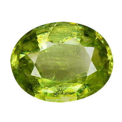 0.930Cts Attractive Top Luster Green Natural  Sphene Pear Loose Gemstones