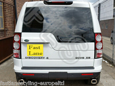Land Rover Discovery Custom Built Stainless Steel Exhaust Rear Dual System