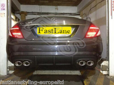 Mercedes CL500 Custom Build Stainless Steel Exhaust Cat Back Dual System